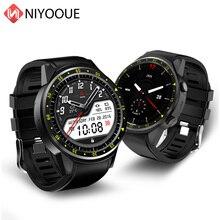 Niyoque f1 banda de relógio inteligente gps posicionamento anti perdido monitor de freqüência cardíaca esportes rastreador ao ar livre relógio de pulso com cartão sim