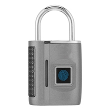 Intelligent Fingerprint Unlocking Quick Of Zinc Alloy Padlock Luggage Backpack