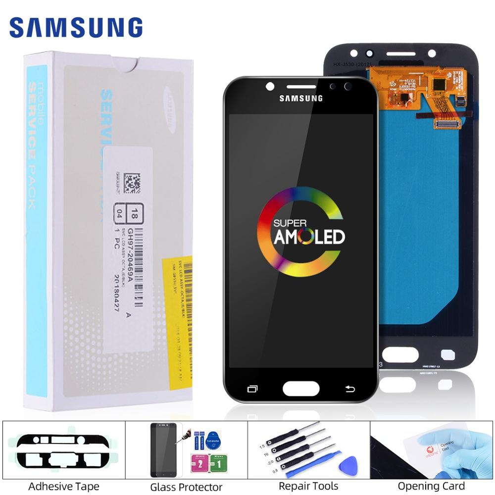 Super AMOLED Original Display Für <font><b>SAMSUNG</b></font> <font><b>Galaxy</b></font> J5 2017 Display <font><b>LCD</b></font> Touch Screen Für <font><b>SAMSUNG</b></font> J5 2017 Display <font><b>J530</b></font> <font><b>LCD</b></font> replaceme image