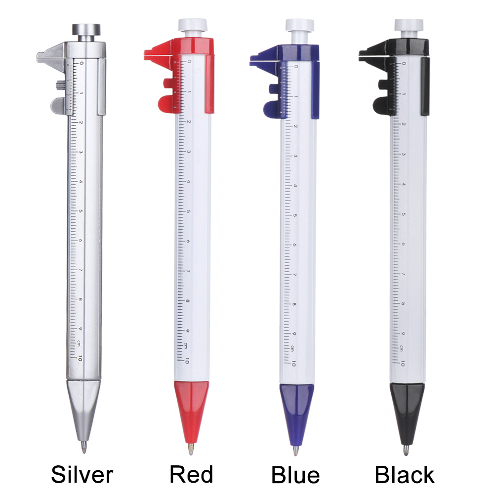 Neue Multifunktions 0,5mm Gel Ink Pen Vernier Kaliber Roller Stift Schreibwaren Kugelschreiber Schule Büro Liefert Geschenke Drop verschiffen
