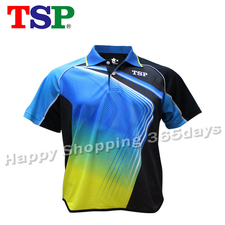 T-Shirts TSP Table-Tennis Jerseys Badminton Ping-Pong-Cloth for Men/women Sportswear title=