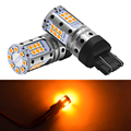 P21W 1156 BA15S 1157BAY15D светодиодные лампы тормозного сигнала Canbus Error Free Поворотная сигнальная лампа T20 7440 7443 W21W W21/5 Вт автоматическая сигнальная лам...