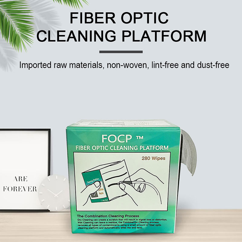280pcs/box Fiber Cleaning Tool Dustfree Paper Fiber Optic Low-lint Wipes Low Dust Wiping Paper,fiber Clean Paper,FTTH Tools