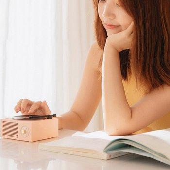 Mini Steel Retro Atomic Speaker Radio Cassette Recorder 3