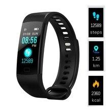 Bracelet intelligent podomètre bande intelligente tension artérielle moniteur de fréquence cardiaque Bracelet de Fitness activité Tracker montre pour IOS PK mi 3 4
