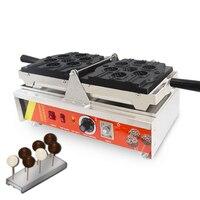 220 V/110 V ticari lolipop Waffle makinesi elektrikli kek makinesi aperatif ekipmanları NP-111 Waffle makinesi tatlı işleme yeni