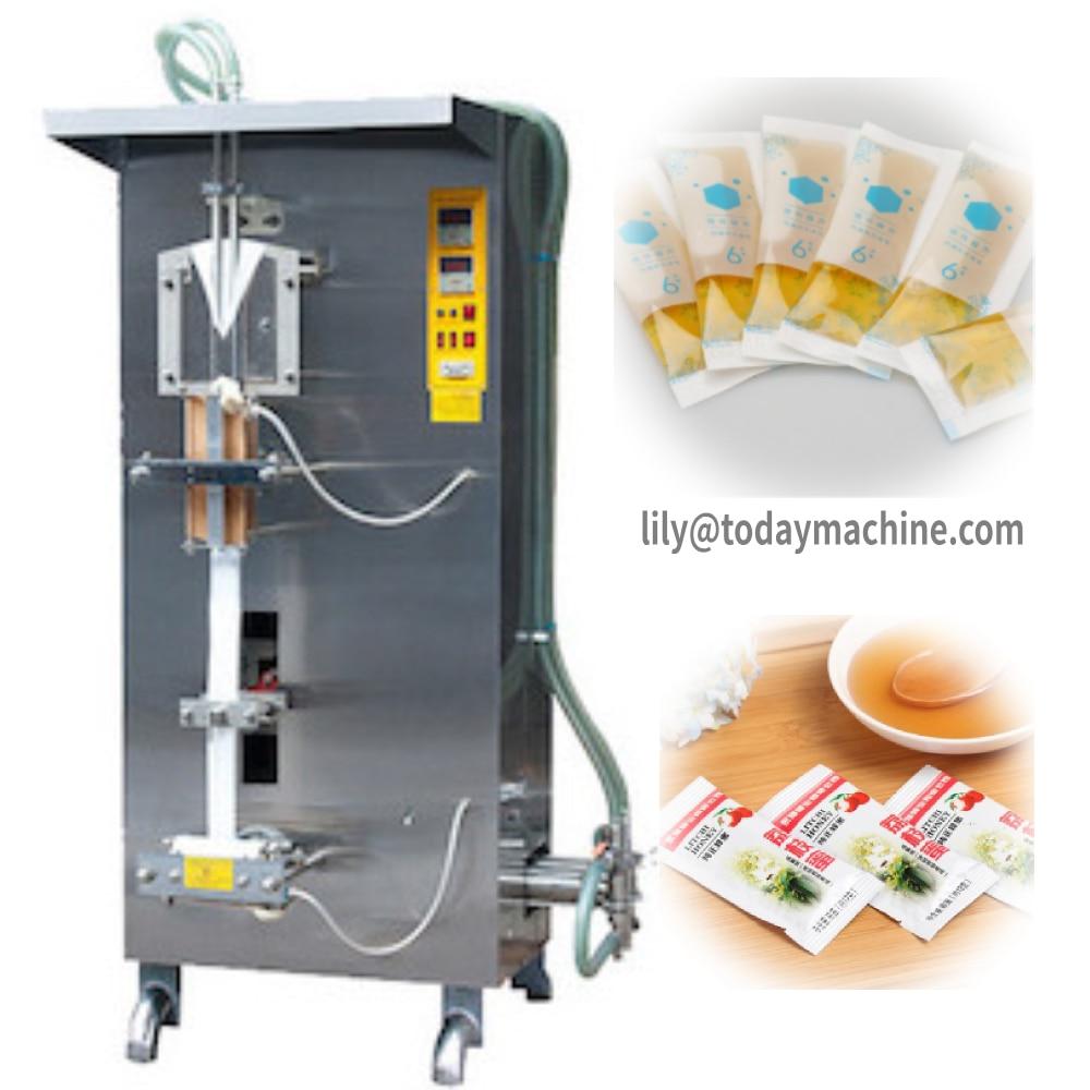2000 Bph Sachet Drinking Water Filling And Sealing / Packaging Machine