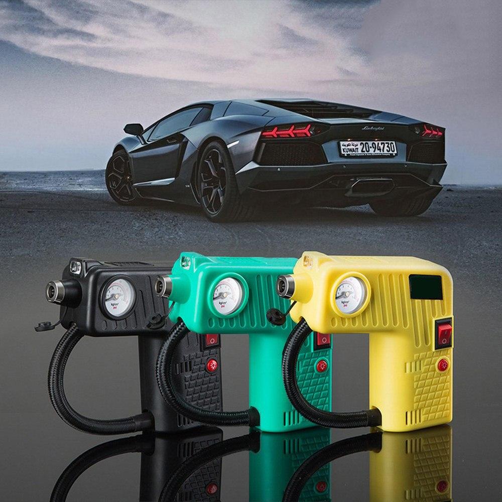 Автомобильный воздушный насос, автомобильный воздушный насос, многофункциональный портативный Электрический воздушный насос