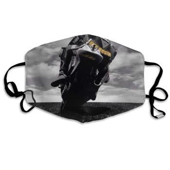 Máscara de boca Crazy Motorcycle Rider Masks-transpirable ajustable a prueba de viento boca-mufla, Camping correr para mujeres y hombres