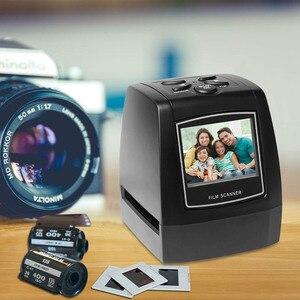"Image 1 - 네거티브 필름 스캐너 35mm 135mm 슬라이드 필름 변환기 사진 디지털 이미지 뷰어 2.4 ""LCD 내장 편집 소프트웨어"