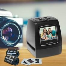 """Negative Film Scanner 35mm 135mm Rutsche Film Konverter Foto Digitale Bild Viewer mit 2.4 """"LCD Bauen in der Bearbeitung Software"""