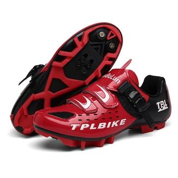 New MTB Sneakers Men Women Cycling Shoes Self-locking Road MTB Bike Sneaker Professional Damping Size 36-46 Sports Shoes 14