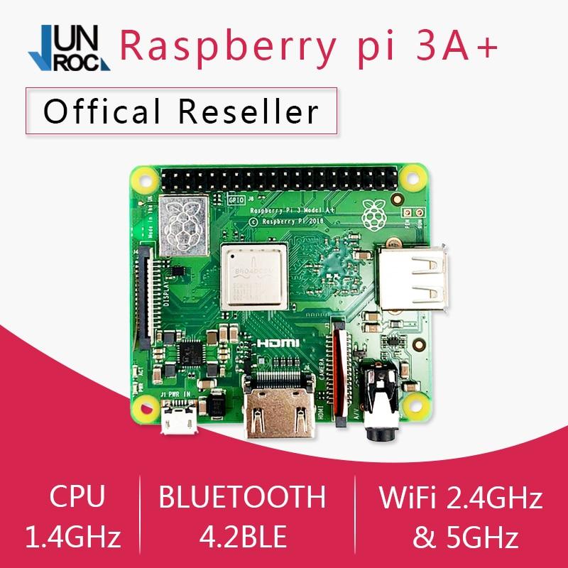 Raspberry Pi 3 Model A+ Plus Pi 3A+ with 2.4G & 5G WiFi 4.2 Bluetooth 4 core 1.4G CPU(China)