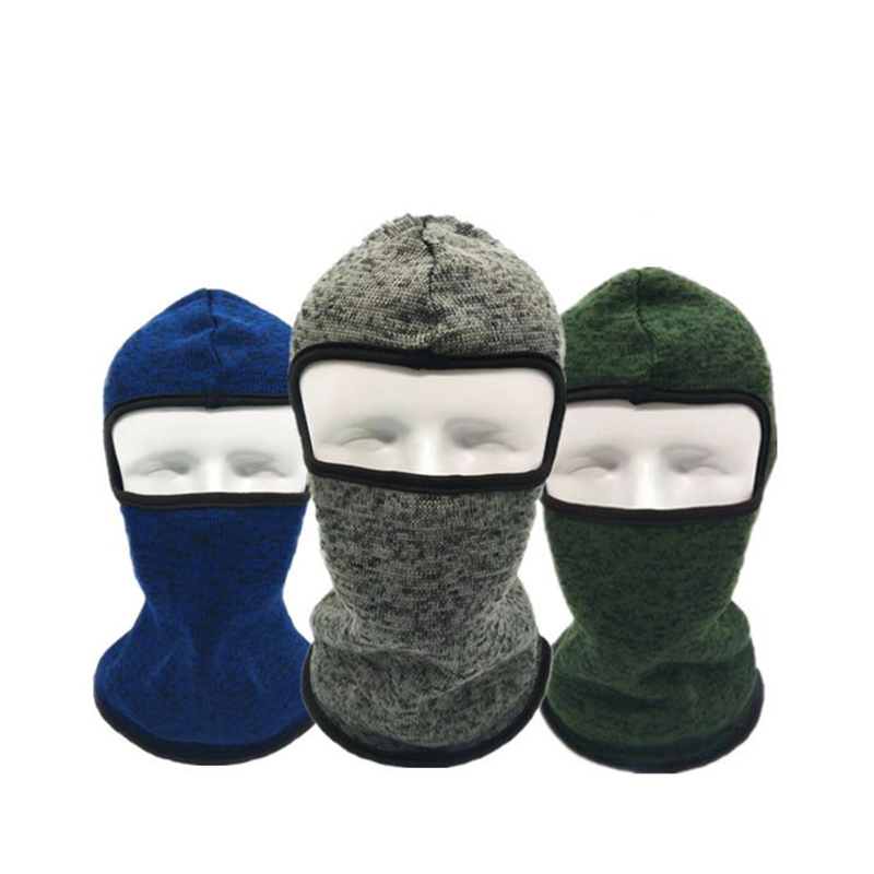 1pc Winter Warm Solid Breathable Balaclava Face Mouth Mask Man Women Unisex Outdoor Skiing Mask Black Mask Mouth Head Cover