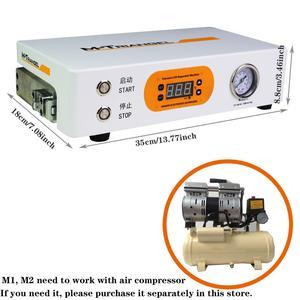 Image 5 - Płaski ekran LCD maszyna do usuwania pęcherzyków powietrza maszyna do wysokiego ciśnienia naprawy LCD 220V/110V 7 cal ekranu należy zewnętrznej pompy M Triangel M1
