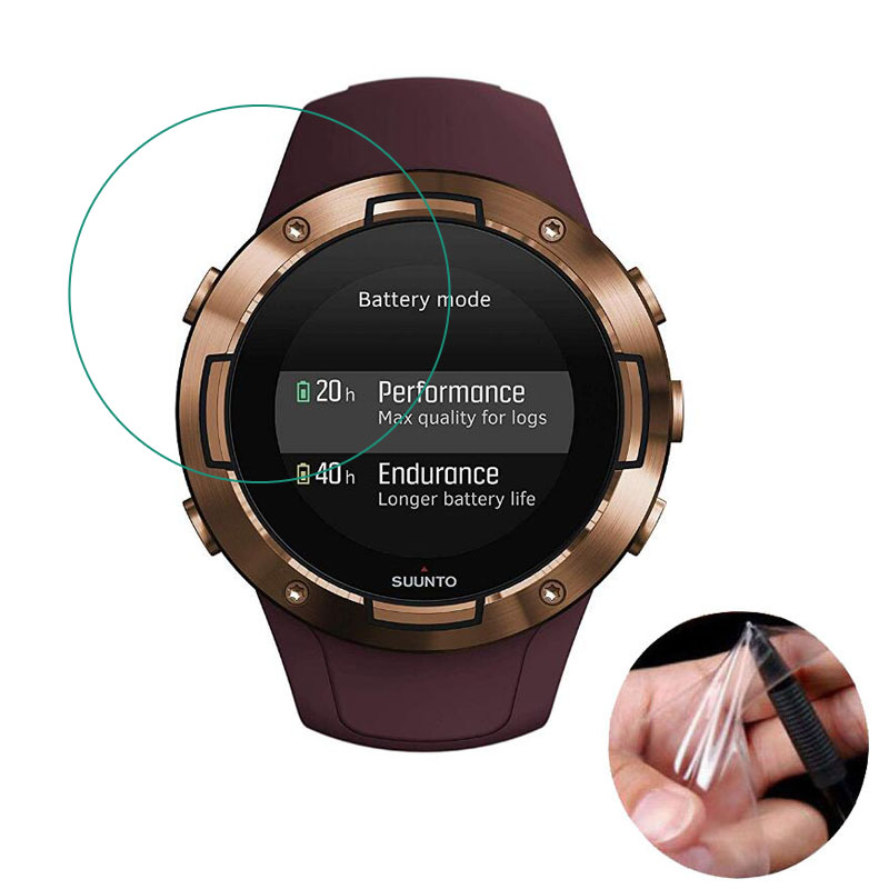 3pcs Soft Clear Smartwatch Protective Film Guard (Not Glass) For Suunto 5 Suunto5 GPS Sport Watch Display Screen Protector Cover