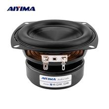 AIYIMA 1Pcs 4 นิ้ววูฟเฟอร์ลำโพง HIFI 4 8 OHM 100W เสียงเบสลำโพงซับวูฟเฟอร์กันน้ำ DIY เสียงโฮมเธียเตอร์