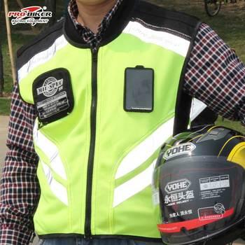 Moto רעיוני אפוד מעיל אופנוע בטיחות חזיית בגדי אזהרת נראות גבוהות אפוד צוות אחיד מחוץ לכביש מירוץ אפוד