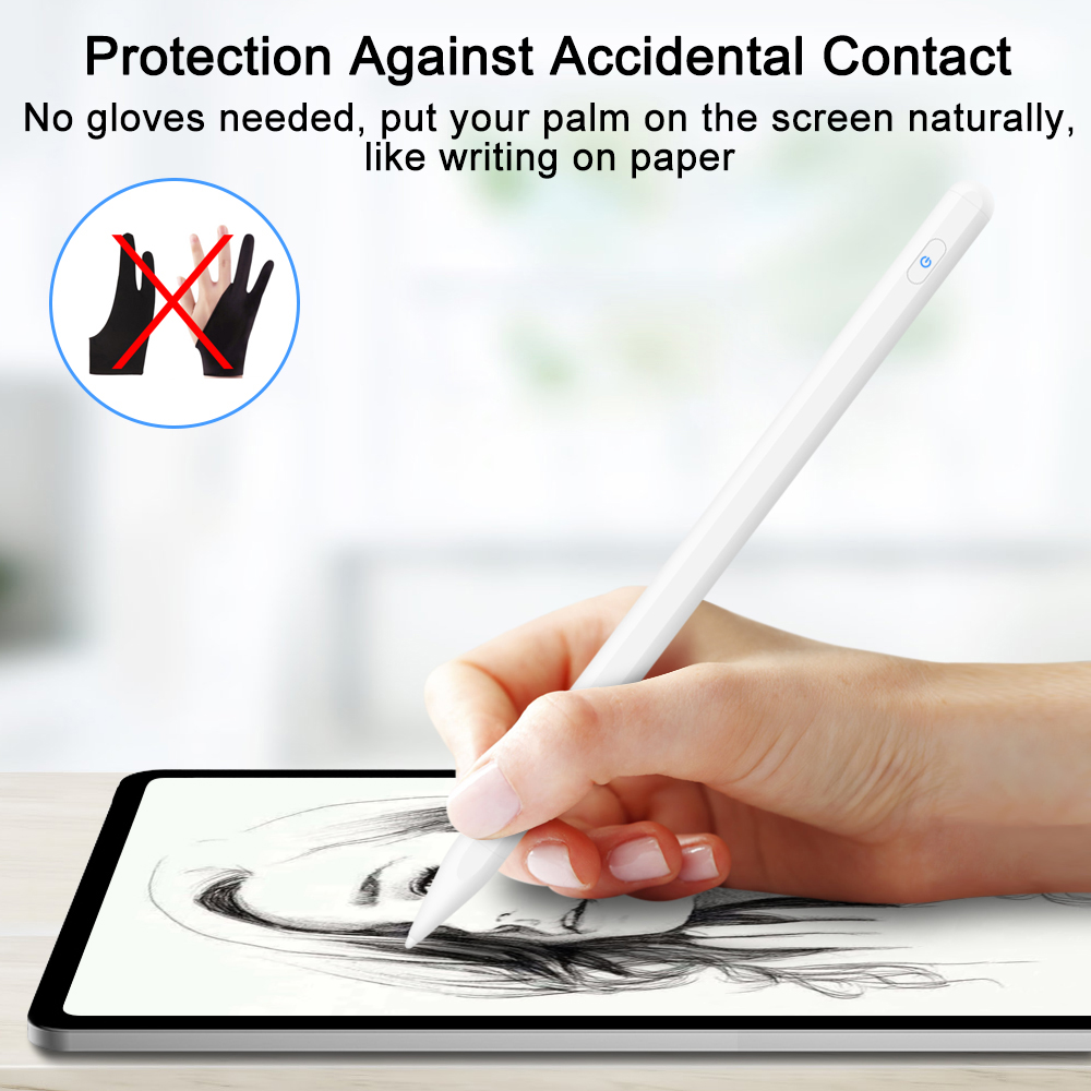 Image 3 - GOOJODOQ for Apple Pencil 2 for iPad Pencil Stylus Pen for iPad  Pro 11 Pencil Pro 12.9 /9.7 2018 2019 Mini 5 with Palm RejectionTablet  Touch Pens