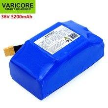 """36V 5.2Ah 5200mah 높은 드레인 2 휠 전기 스쿠터 자기 균형 조정 리튬 배터리 팩 6.5 """"7"""""""