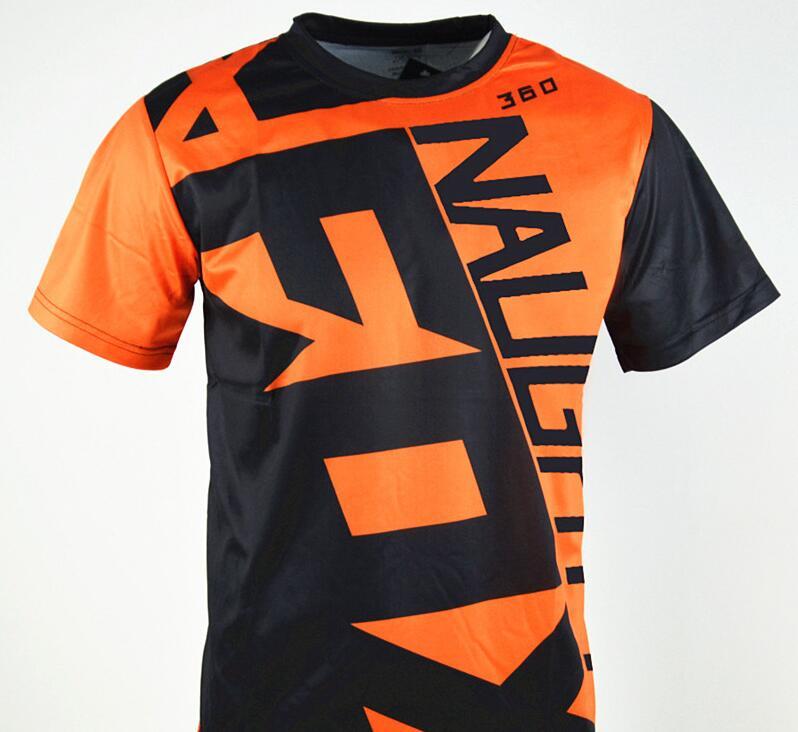 New FOX Mens Cycling Jersey Mountain Bike MTB Racing Motocross Short Sleeve Top