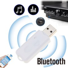 New Hot Wireless Bluetooth Audio Stereo Music Receiver Adapter Dongle Kit for Speaker for Car Music Player