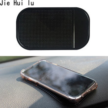 Car Non-Slip Dashboard Magic Sticky Pad Anti-Slip Rubber Gel Mat Cushion for Mobile Phone Auto Interior Accessories Black(China)