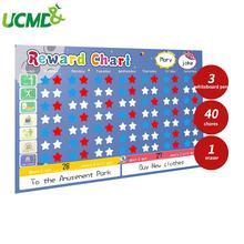 Магнитный календарь для обучения детей 60 х40 см