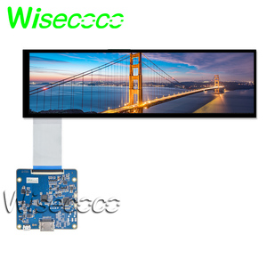Nowy 8.8 calowy ekran 1920*480 LCD 600cd/m2 z płytą HDMI na lusterko wsteczne samochodu GPS HSD088IPW1-A00