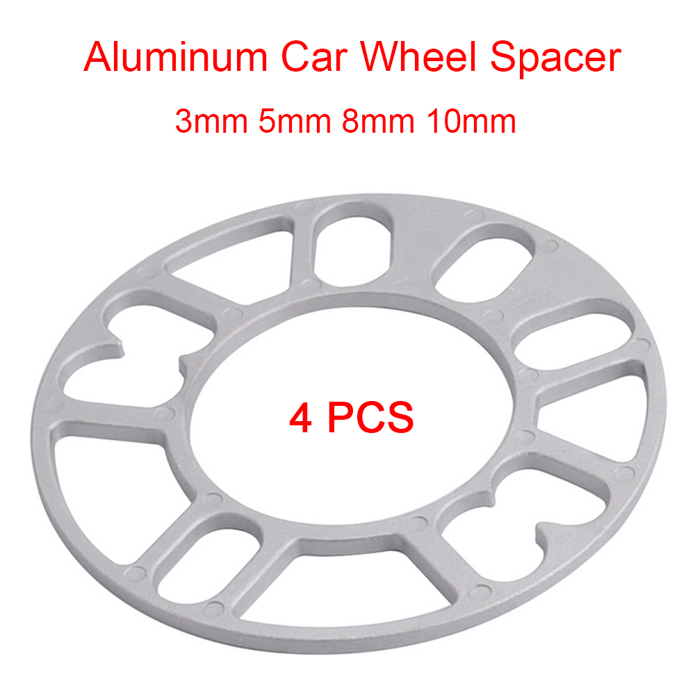 4 X 7mm SHIMS SPACER UNIVERSAL ALLOY WHEELS SPACERS FOR OPEL 4X100
