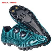 Новая обувь для велоспорта, дышащая и водонепроницаемая обувь для гонок на горном велосипеде, обувь для велоспорта, самофиксирующаяся обувь, спортивная обувь для велоспорта