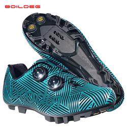 2019 New Cycling Shoes Breathable&Waterproof Mountain Bike Racing Shoes MTB Cycling Self-Locking Shoes Athletic Bicycle Shoes
