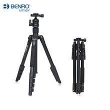 BENRO IT25 Stativ Tragbare Kamera Steht Gebogen Removerble Reisen Einbeinstativ Tragetasche Max Laden 6kg
