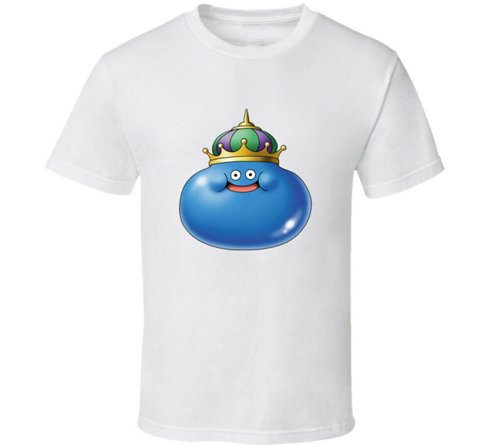 Dragon Quest King Slime Video Game T Shirt Mens Tee Many Colors Fan Gift New Fitness Tee Shirt image