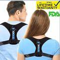 Корректор осанки для мужчин и женщин, для мужчин и детей, регулируемый верхний бандаж для ключицы для поддержки шеи, спины и плеч