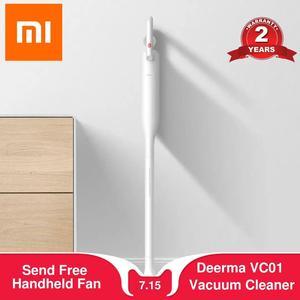 Xiaomi Deerma VC01 ручной беспроводной пылесос 8500Pa авто-Вертикальная Палка аспиратор Пылесосы для дома автомобиля
