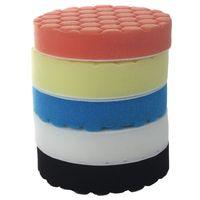 Kit de almohadillas de pulido de 5 pulgadas (125mm) para pulir el coche Paquete de 5 uds Almohadillas de pulido     -