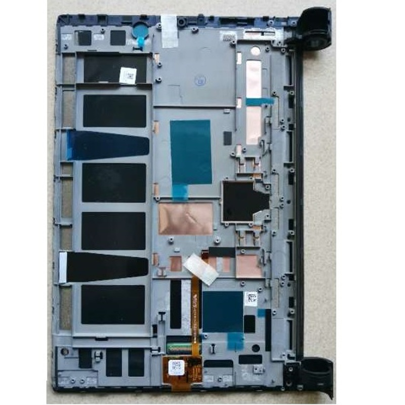 Bilgisayar ve Ofis'ten Tablet LCD'ler ve Paneller'de Dokunmatik ekran digitizer lcd ekran için Lenovo Yoga Tab 3 Pro 10.1 yt3 x90 YT3 X90L YT3 X90F YT3 X90X ZA0G tablet montaj parçaları title=