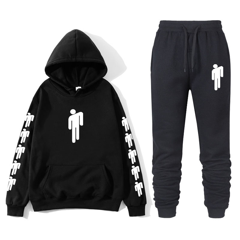 New 2019 Billie Eilish Hoodie Print Boy/girl Sweatshirt Clothes Harajuku Casual Hot Sale Hoodies Kpop Sweatshirts 2XL Pants