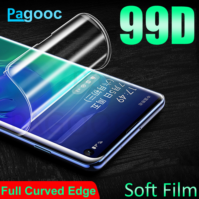 99D Hydrogel Film On The For Samsung Galaxy Note 8 9 S7 S10E S10 S9 S8 Plus S7 Edge Screen Protector Protection Film Not Glass
