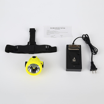 BK2000 3500LX3W lithiumion battery headlamp LED miner mining cap Lamp with Charger for fishing hunting mine fire protection etc