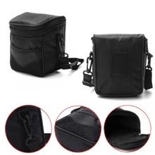 Black Nylon Camera Bag Digital Camera Waterproof Case Shoulder Bag For N-K Canon ILDC Camera dropshipping цена и фото