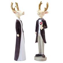 European Style Cartoon Wedding Figurines Miniatures Decoracion Hogar Moderno Home Decoration Accessories Decora O Para Casa o weil miniatures op 15