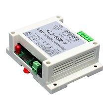 Controlador de relé gsm com 2 vias, sensor de temperatura, controle remoto para automação de casa inteligente, interruptor sim, abridor de porta de garagem