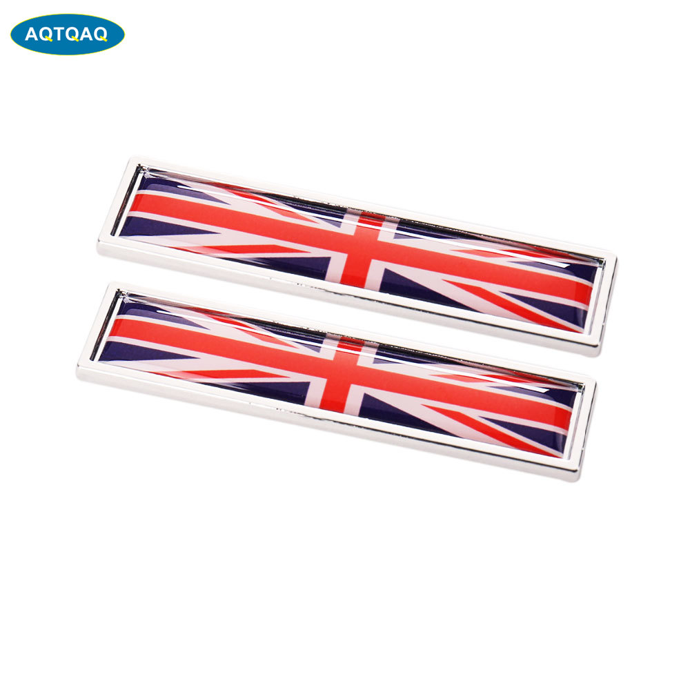 Metal The Union Jack Car Sticker Badge British Flag Auto Doors Decal Rear Emblem