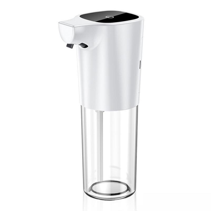H8b7c3d53a83a45eb98754a320f4adba8Q - 275ml Automatic Soap Dispenser Vertical Touchless Induction Foam Electric Smart Sensor Liquid Soap Dispenser Bathroom Kitchen