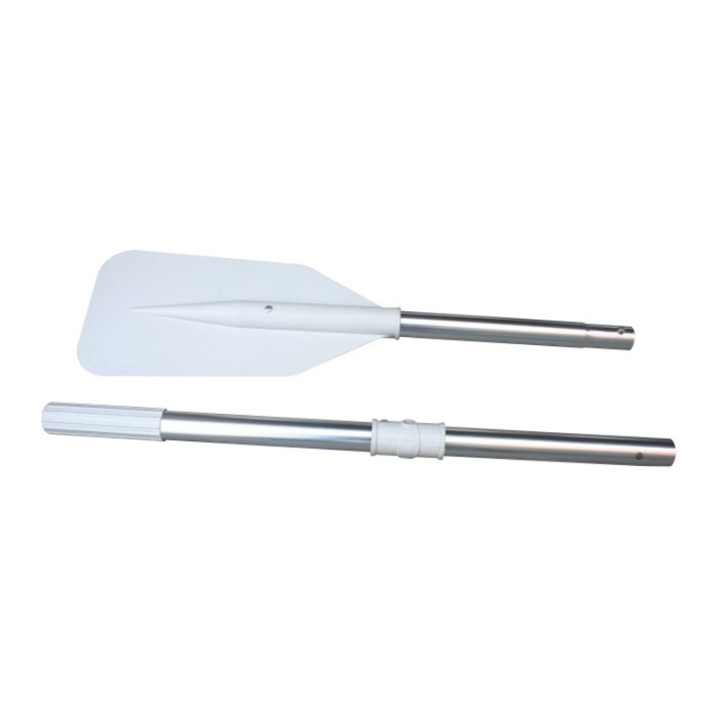 New 1Pair Aluminum Alloy Detachable Float Afloat Oars Fitting Boat Rafting Paddle Canoe Oar Boat Accessories