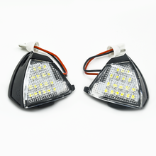 Car LED Under Side Mirror Lights Puddle Lamp for VW Golf 5 Plus Eos Passat CC Jetta MK3 Touran Sharan MK2 7N Accessories