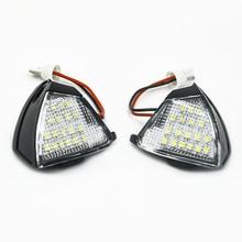 Car LED Under Side Mirror Lights Puddle Lamp for VW Golf 5 Plus Eos Passat CC Jetta MK3 Touran Sharan MK2 7N Accessories