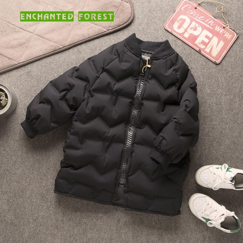 Children's down jacket winter new children's clothes comfortable warm boys coat girls coat frosted Kids coat Girl Parkas 2
